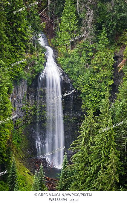 Martha Falls in Stevens Canyon; Mount Rainier National Park, Washington