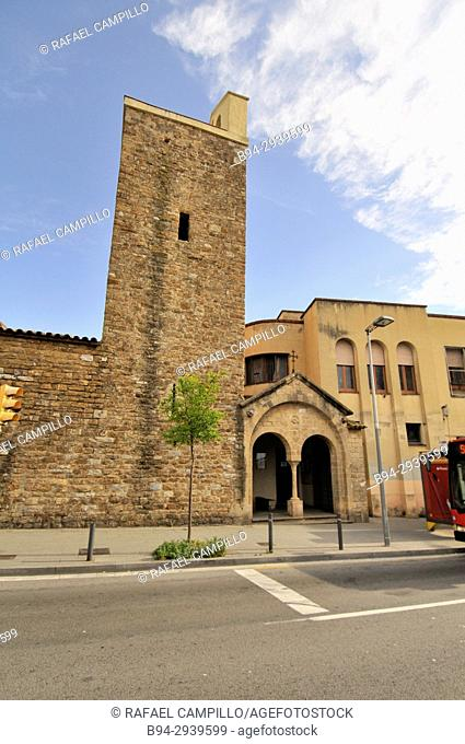 Church of Our Lady of Coll, dating from the eleventh century. Originally, the sanctuary was called de Mare de Déu de la Font-rúbia