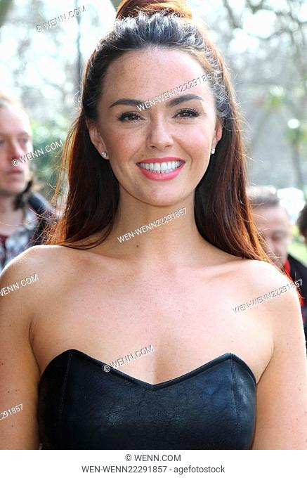 TRIC Awards 2015 at the Grosvenor House Hotel, Park Lane, London Featuring: Jennifer Metcalfe Where: London, United Kingdom When: 10 Mar 2015 Credit: WENN