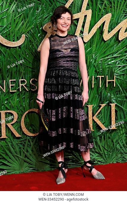The London Fashion Awards held at the Royal Albert Hall - Arrivals Featuring: Camilla Rutherford Where: London, United Kingdom When: 04 Dec 2017 Credit: Lia...