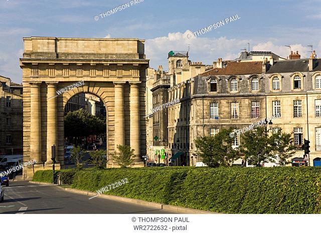 Porte des Salinieres, Bordeaux, Gironde, France
