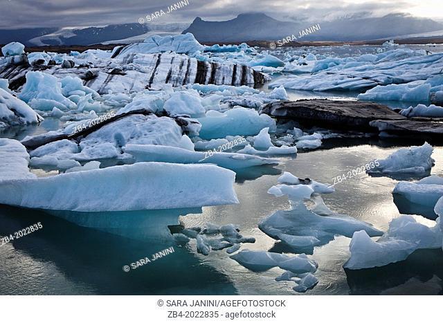 Jokulsarlon Lagoon, Vatnajokull Glacier, Iceland, Polar Regions