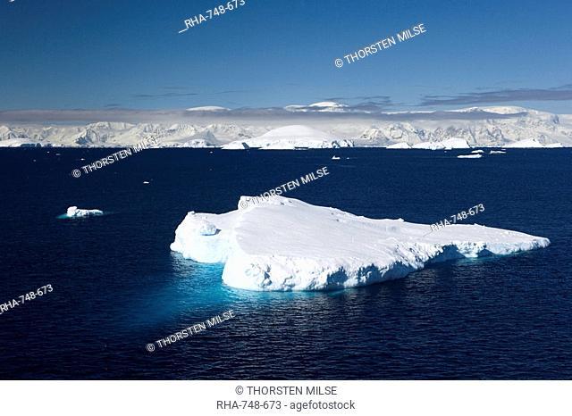 Iceberg, Lemaire Channel, Weddell Sea, Antarctic Peninsula, Antarctica, Polar Regions