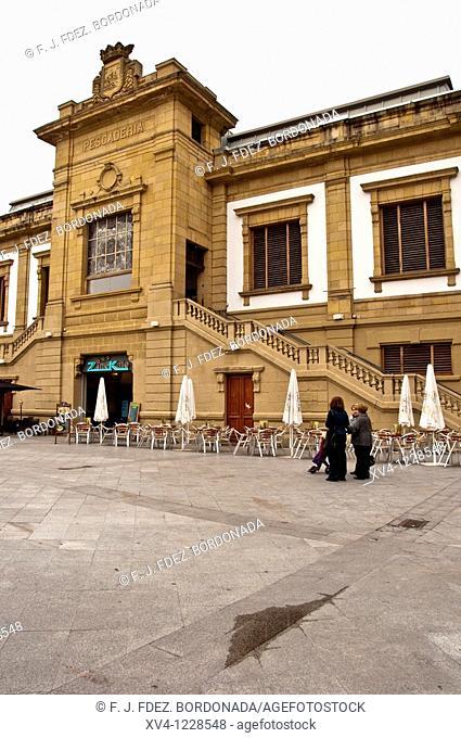 San Sebastian  Historic centre  Guipuzcoa  Basque Country  Spain  Europe
