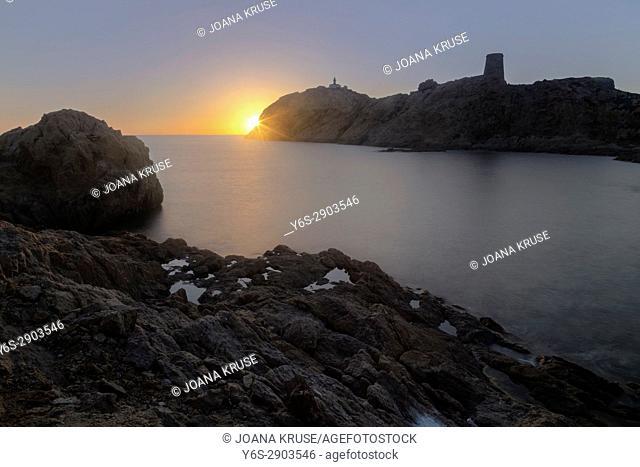 L'ile Rousse, Balagne, Corsica, France