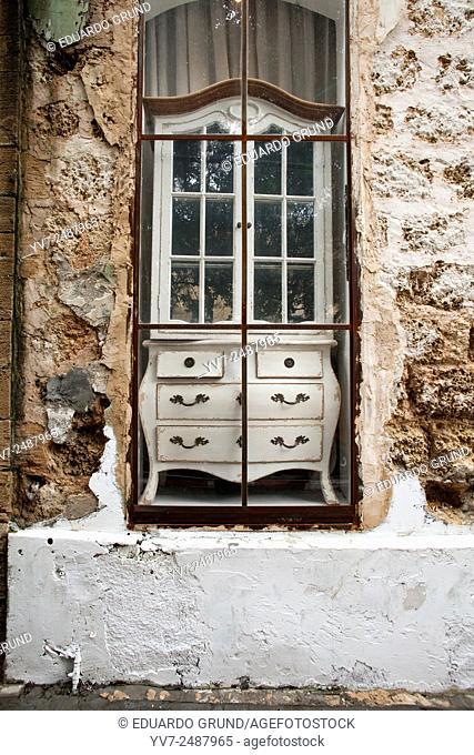 "Vintage Furniture in """"Gavriel"""". Tel Aviv, Israel, Asia"