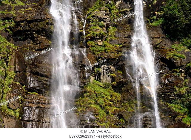 Waterfall in Chiavenna