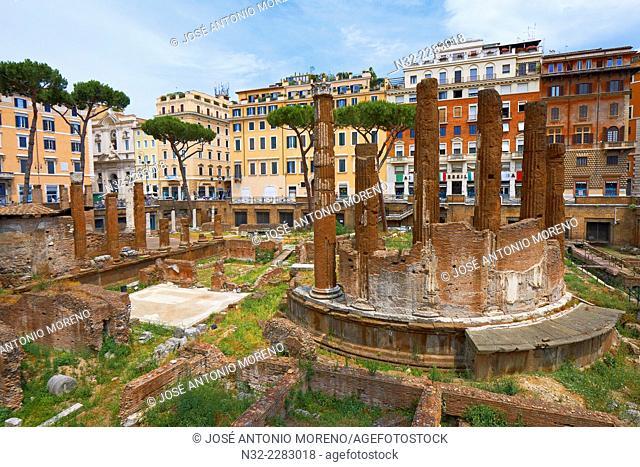 Area Sacra, Largo di Torre, Argentina square, Rome, Lazio, Italy, Europe