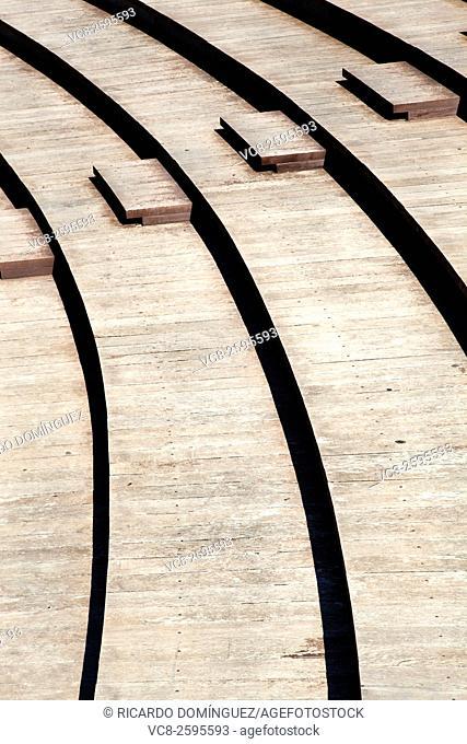 Wood terraces