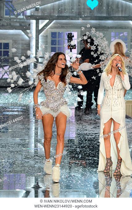 096fc0e1db 2015 Victoria s Secret Fashion Show - Runway Featuring  Izabel Goulart  Where  New York