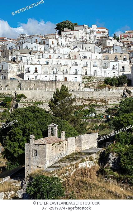 Monte Saint'Angelo on the Gargano Peninsula, Puglia, Southern Italy