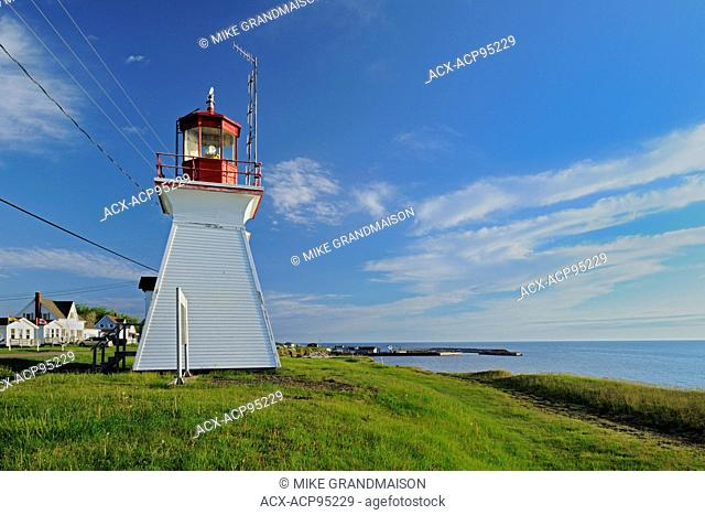 Lighthouse on the Northumberland Strait Cap-Lumiere New Brunswick Canada