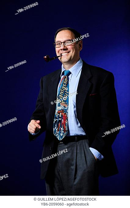 James Kakalios, Hollywood Physicist, attending the Edinburgh International Book Festival, Monday 19th August 2013
