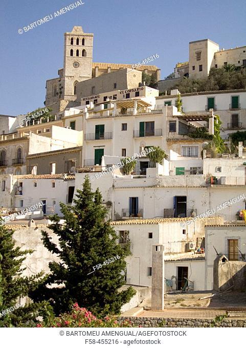 Dalt Vila. Eivissa. Balearic Islands. Spain