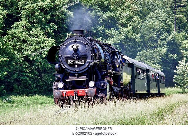 Steam locomotive, Class 52, express locomotive of Deutsche Reichsbahn