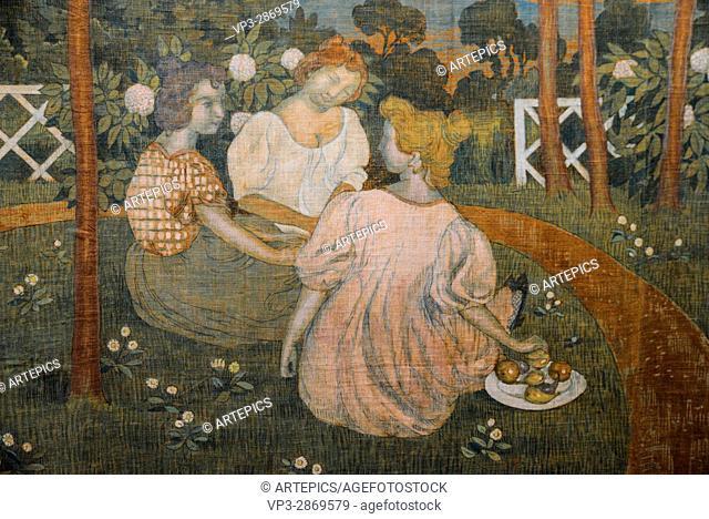 Maurice Denis - Trois Jeunes Princesses - 1898