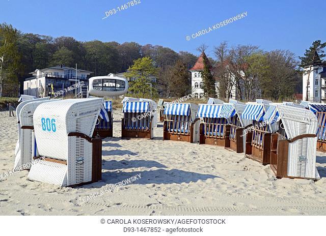 Europe, D, Germany, Mecklenburg-Western Pomerania, Rügen, Baltic Sea, Binz