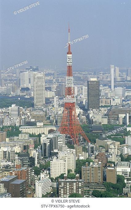 Asia, Buildings, Holiday, Japan, Landmark, Modern, Roppongi hills, Skyline, Tokyo, Tokyo city view, Tokyo tower, Tourism, Travel