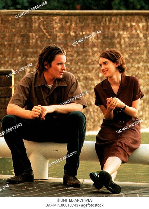 Voll das Leben - Reality Bites, (REALITY BITES) USA 1994, Regie: Ben Stiller, ETHAN HAWKE + WINONA RYDER