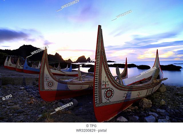 Lanyu; Lanyu Dongqing Bay; Puzzle boat