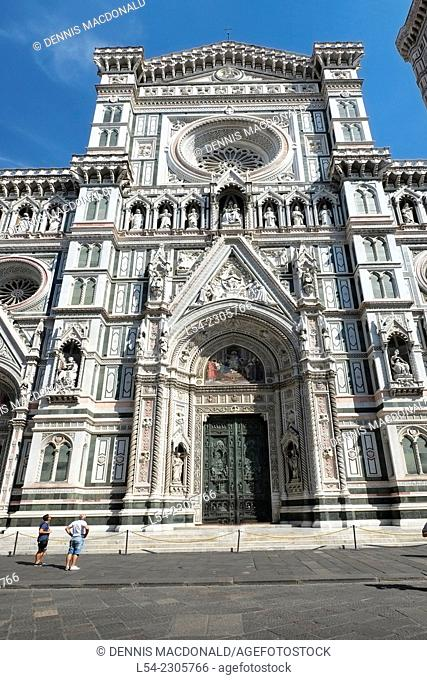 Florence Cathedral Italy IT Renaissance EU Europe Tuscany