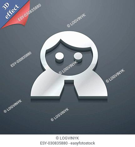 Vector 3d login icon Stock Photos and Images | age fotostock
