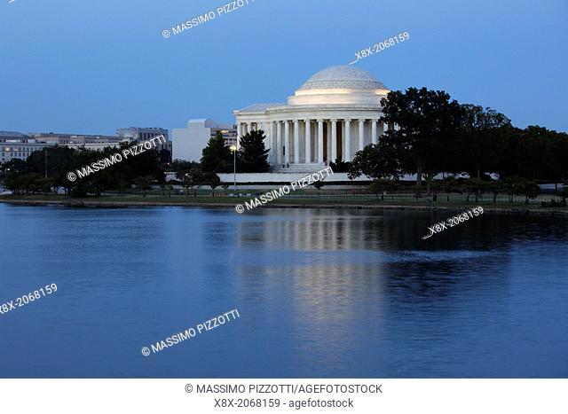 Thomas Jefferson Memorial in Washington D.C., USA