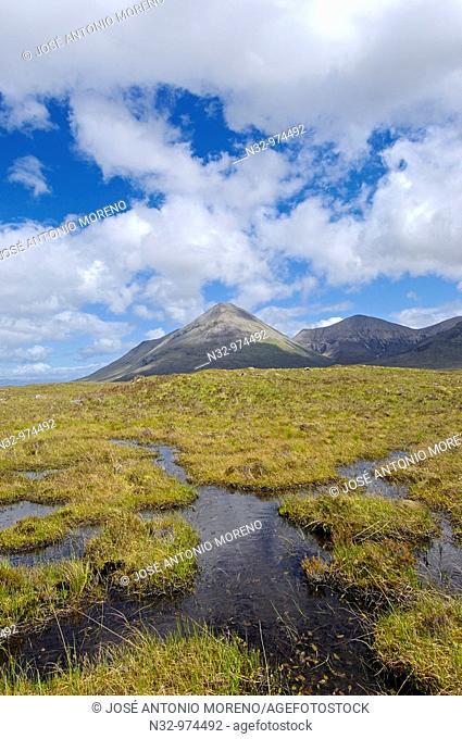 Cuillins Hills, Isle of Skye, Western Highlands, Scotland, UK