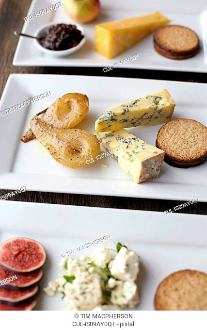 Selection of cheeseboards