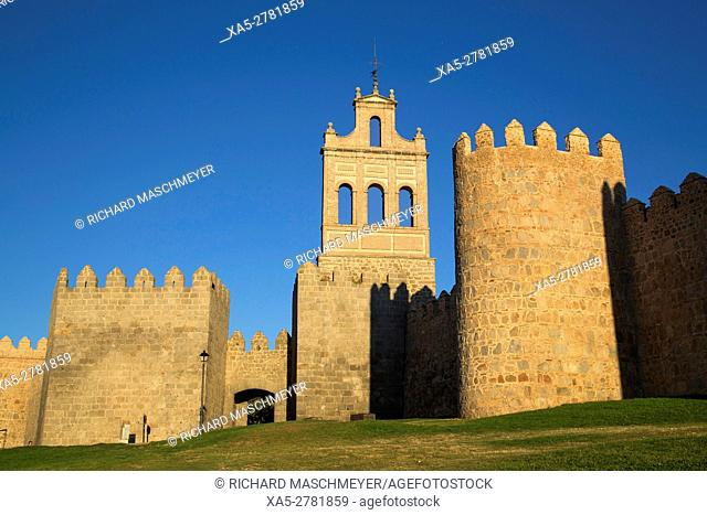 Puerta del Carmen, Avila, UNESCO World Heritage Site, Spain