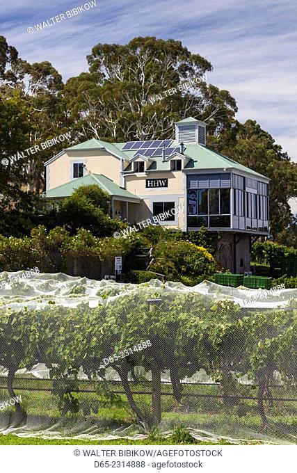 Australia, South Australia, Adelaide Hills, Hahndorf, Hahndorf Hill Winery, exterior