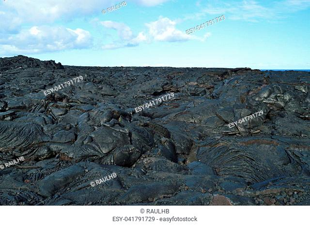 Lava Rocks. Big Island, Hawai, USA. EEUU