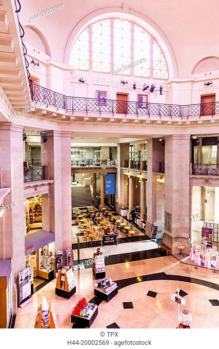 Wales, Cardiff, National Museum Cardiff, The Main Hall