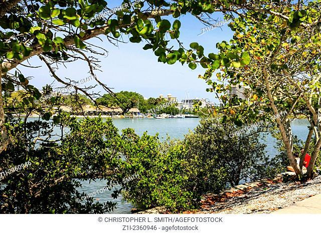 Sarasota waterfront an Bay in SW Florida