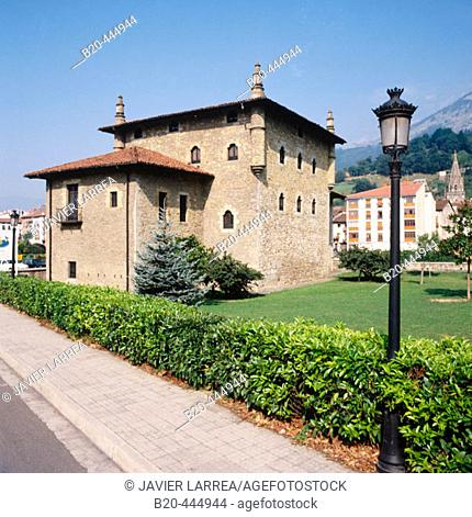 Emparan House-Tower. Azpeitia, Guipuzcoa, Basque Country, Spain