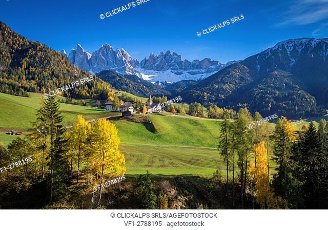 Santa Maddalena, Funes Valley, Trentino Alto Adige, Italy