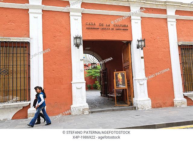Museo Santuarios Andinos, Casa de la Cultura, Arequipa, Peru