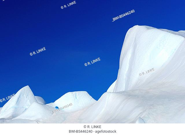 Iceberg on Snow hill island, Antarctica, Antarctic Peninsula, Weddell See, Snow Hill island