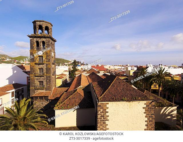 La Concepcion Church, elevated view, San Cristobal de La Laguna, Tenerife Island, Canary Islands, Spain