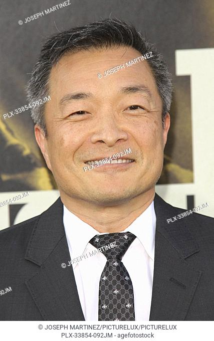 "Jim Lee at Warner Bros. Pictures' """"The Kitchen"""" Premiere held at the TCL Chinese Theatre, Los Angeles, CA, August 5, 2019"