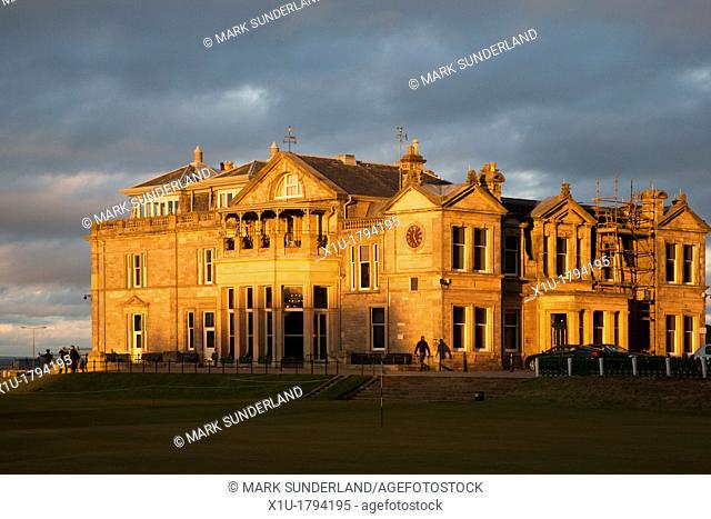 Royal and Ancient Golf Club St Andrews Fife Scotland
