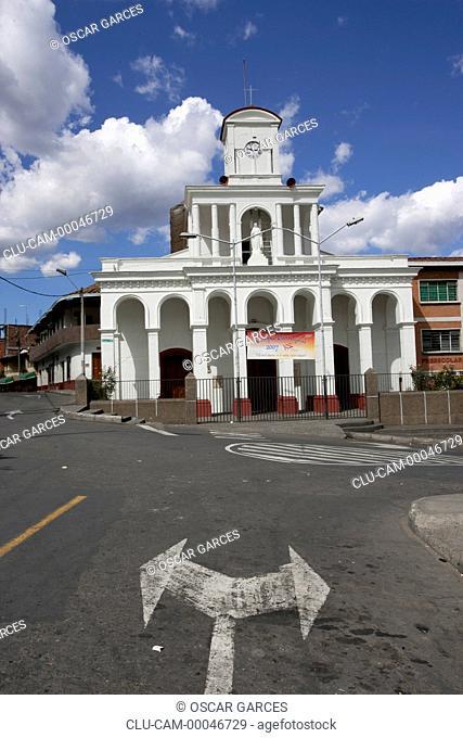 Church of San Cristobal, San Cristobal, Medellin, Antioquia, Colombia