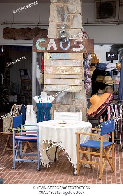 Caos Bar and Cafe, Santa Eularia; Ibiza, Balearic Islands; Spain