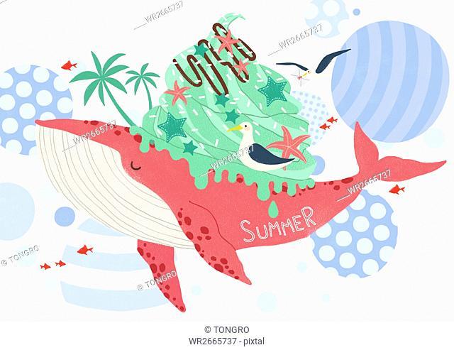 Background of summer