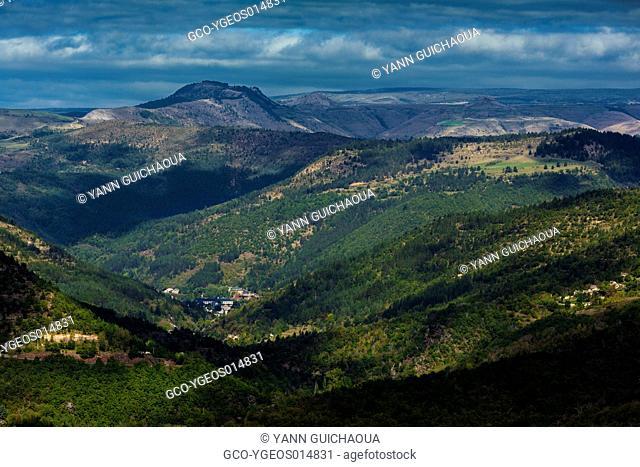 La Vallee Francaise,The National Park Of Cevennes, Languedoc Roussillon, France