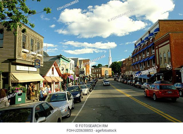 Camden, ME, Maine, Penobscot Bay, Downtown
