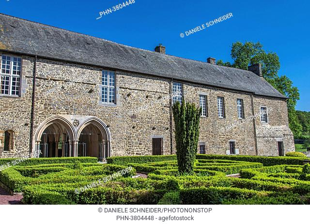 Normandy, Manche, Hambye Abbey, remains of the abbatial church and conventual buildings (Historical Monument)