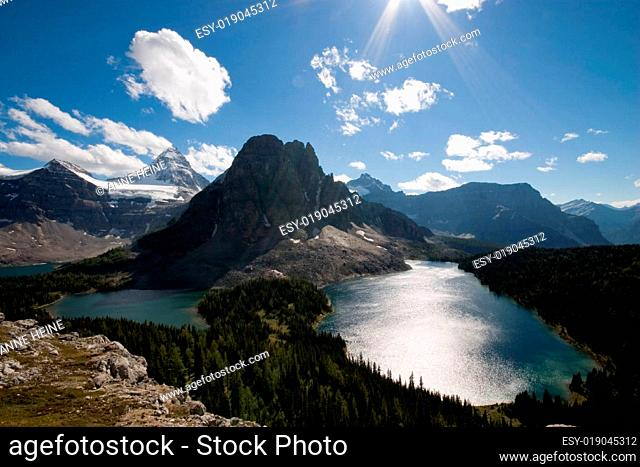Assiniboine ausblick