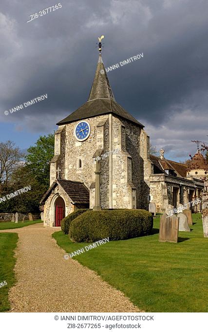 Saint Michael and all Angels Parish Church,Mickleham Village,Surrey,England