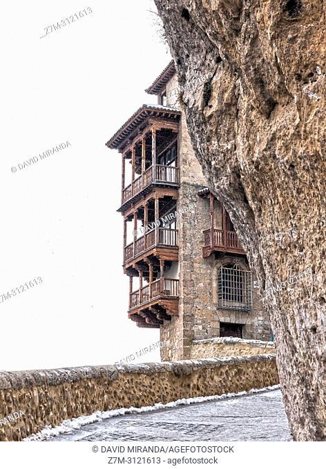 Casas colgadas. Cuenca. Castilla la Mancha, Spain